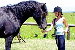 Конна езда за деца Оксиния